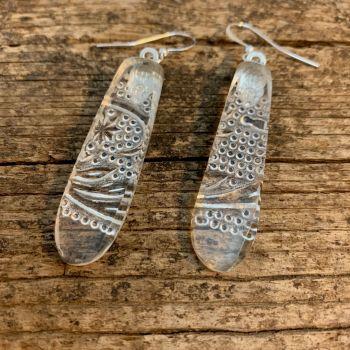 'Chandelier Clear' earrings - boucles d'oreilles