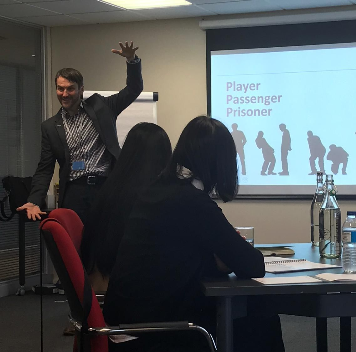 Andy Capie engaging  participants on Avery Mind Programme