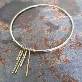 The Blend drop bangle