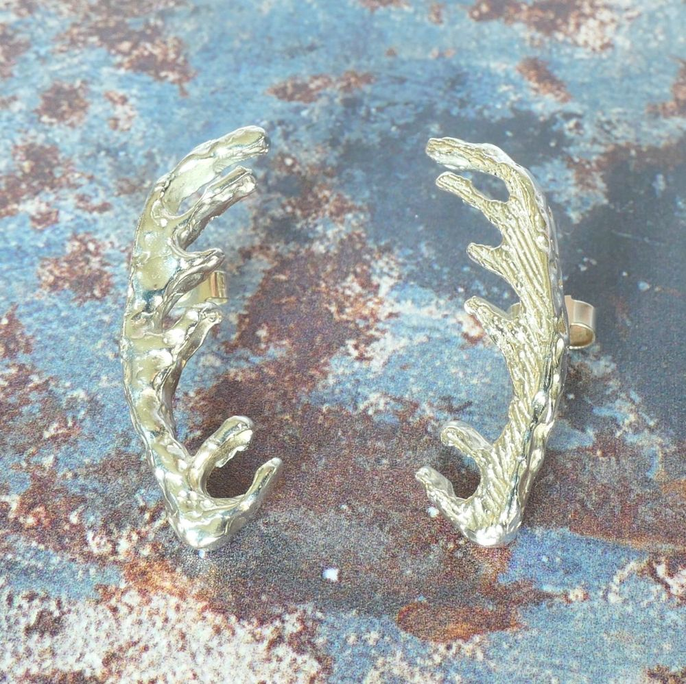 Moorland stud earrings