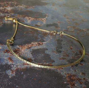 Serrula adjustable Bangle