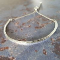 Birch Knife edge adjustable bangle