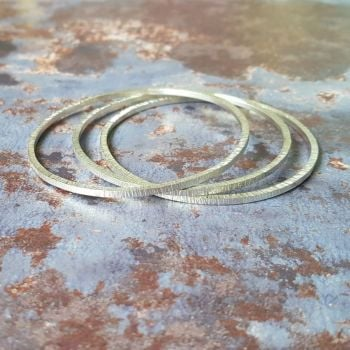 Birch stacking bangles