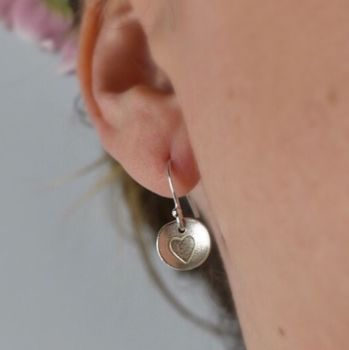 Elskede Heart Drop Earrings