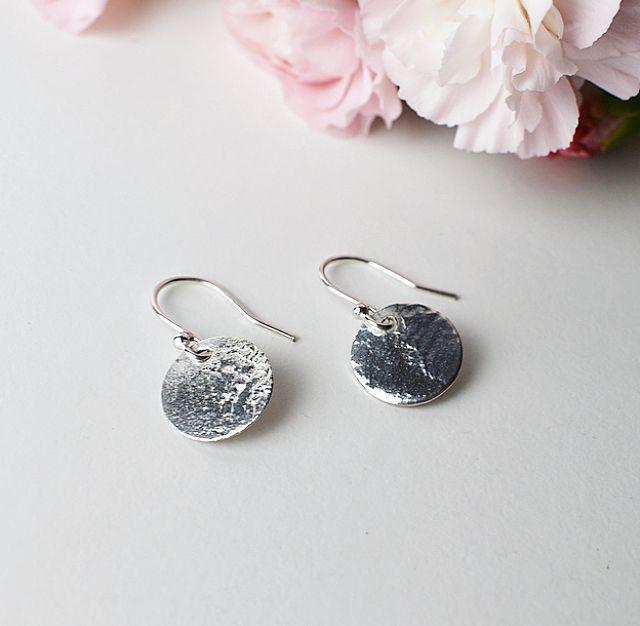 elska 1 disc earrings