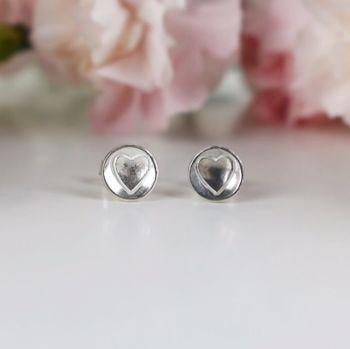 Elskede Heart Stud Earrings