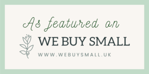 We Buy Small As Featured In Logo The Sylverling Workshop