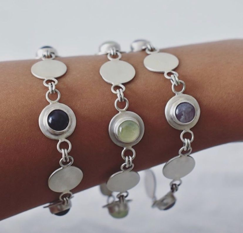 Gersemi collection bracelets handcrafted by The Sylverling Workshop