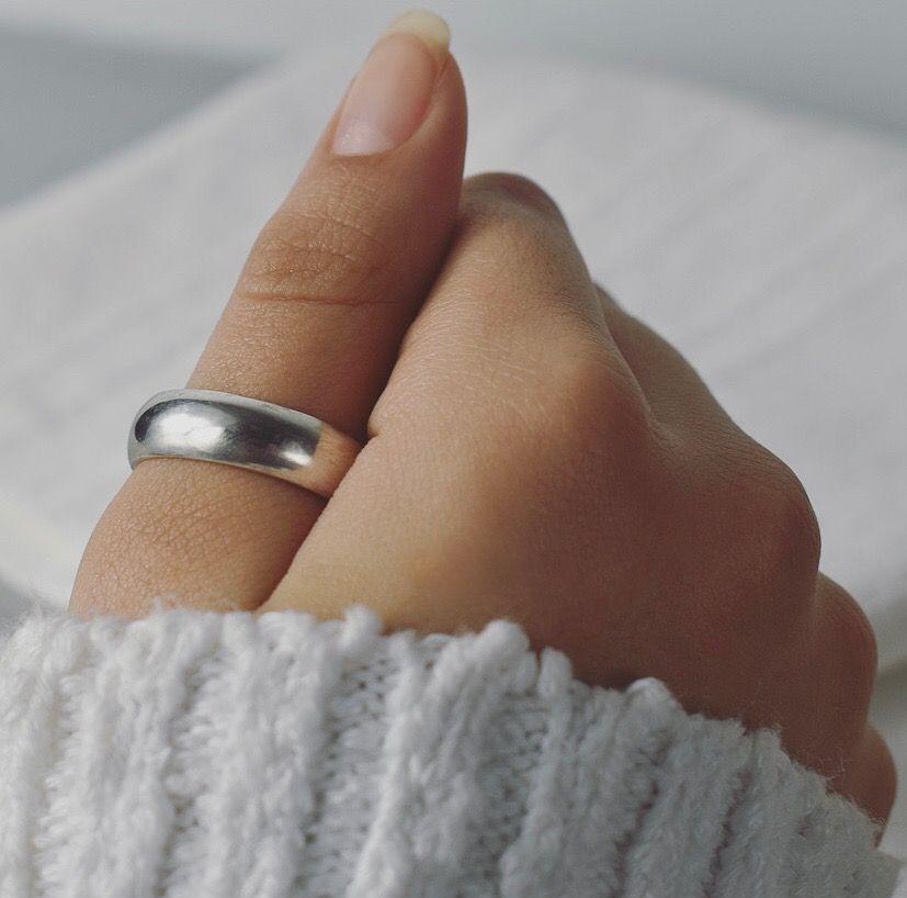Half Round 6MM Wide Ring- Handmade To Order