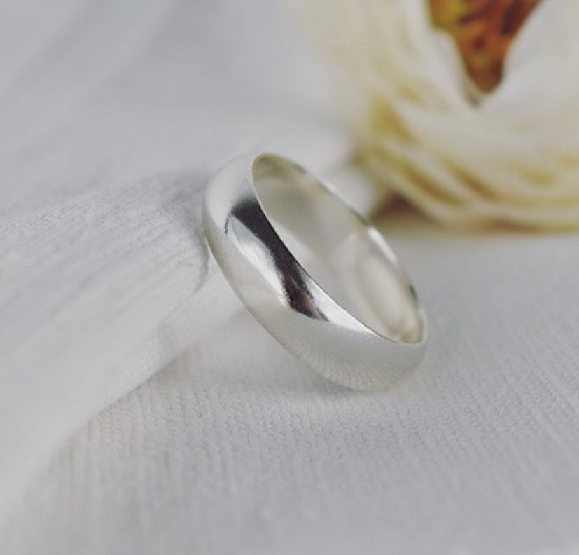 Argentium Silver Ring Handmade by The Sylverling Workshop