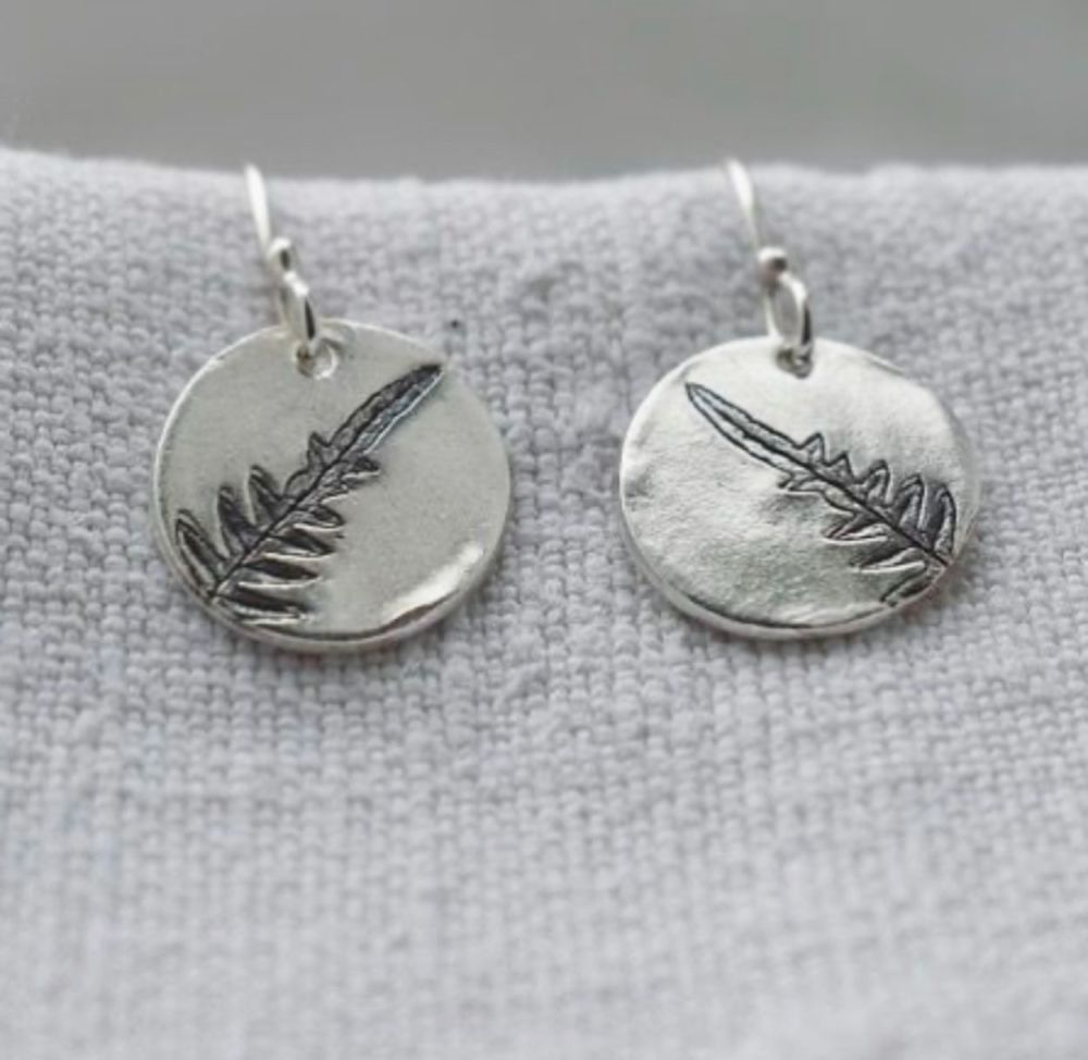 Woodland Fern Earrings