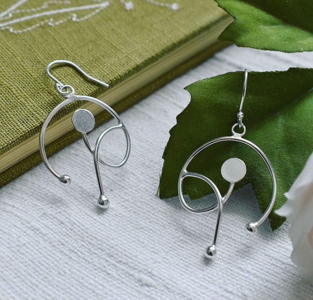 Seedling Drop Earrings