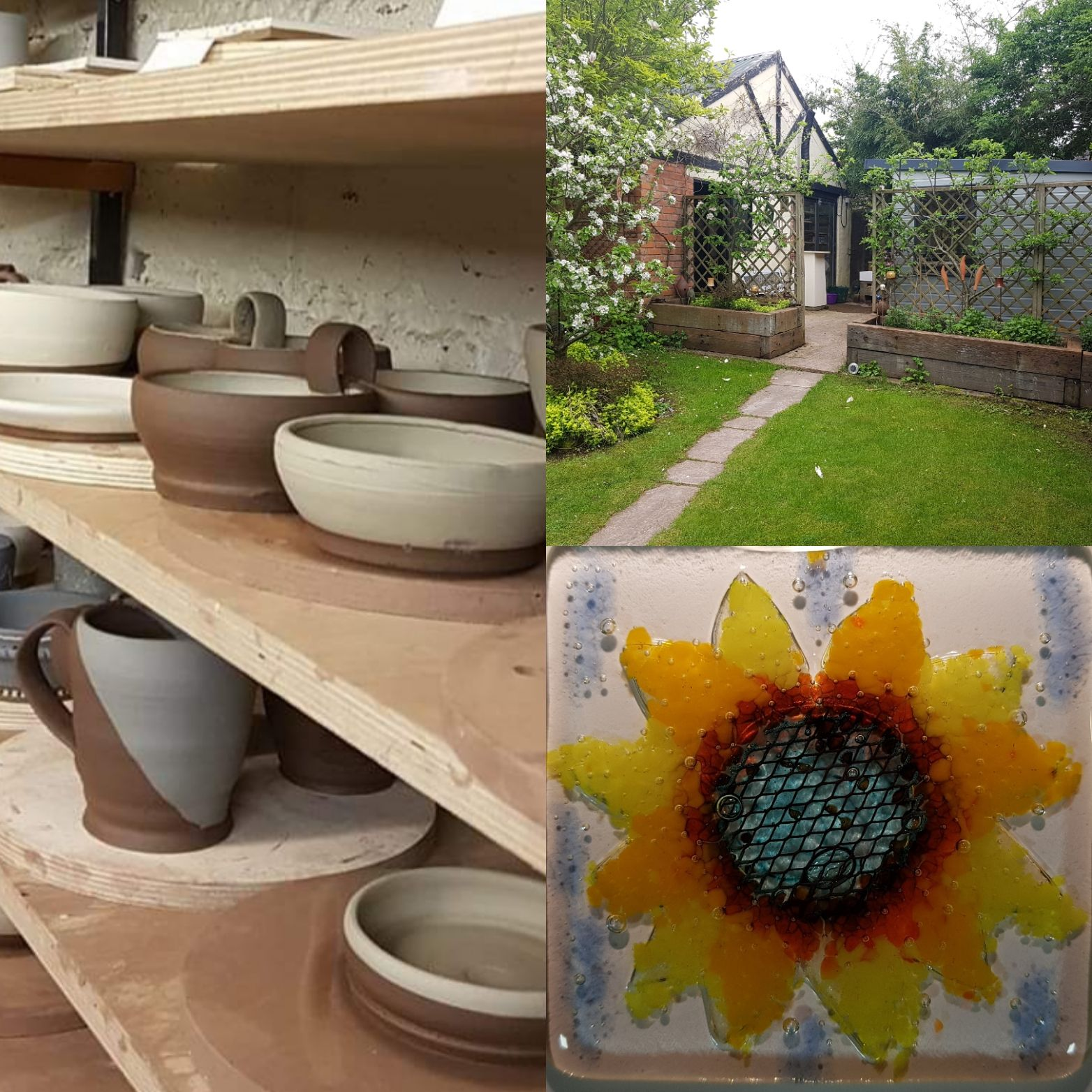 Pottery Workshop and glass class - try 2 craft activities in Worcester
