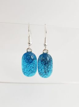 Bubbles - Turquoise blue bubbles drop earrings