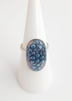 Bubbles - Pale purple bubbles ring