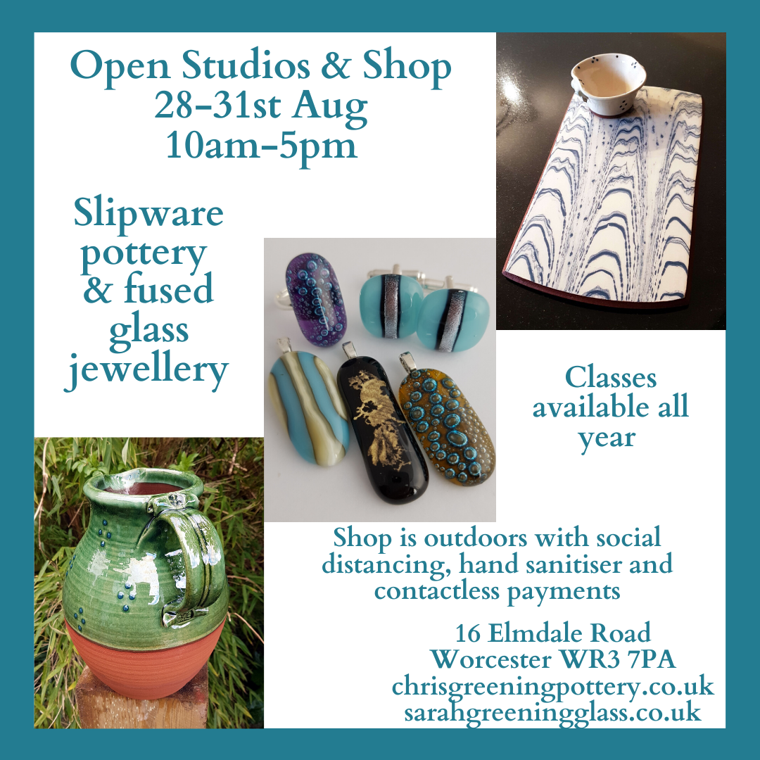 Pottery & Glass Open Studios