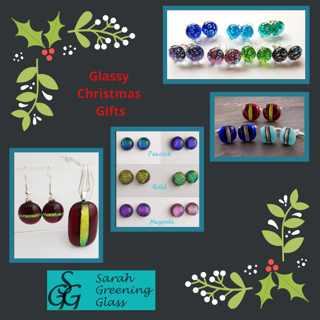 Stylish Christmas glass gifts