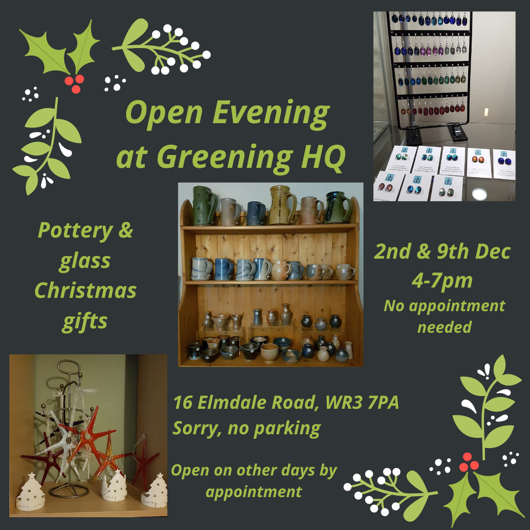 Pottery & glass shopping event