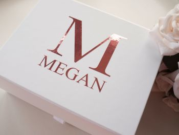 PERSONALISED NAME & INITIAL GIFT BOX