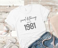 PERSONALISED SOCIAL DISTANCING TSHIRT