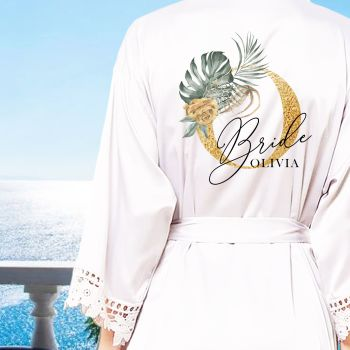 PERSONALISED BRIDAL PARTY ROBES (OLIVIA)