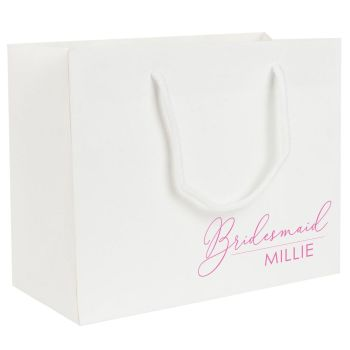 PERSONALISED BRIDAL PARTY GIFT BAG (BELLE)
