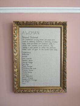 TBW #44   A. Woman. C.V.