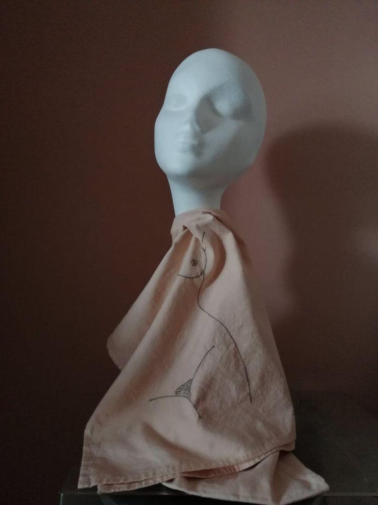 TBW #41 Scarf  Woman