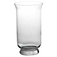 38cm Glass Hurricane Vases
