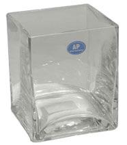 Glass cube 7cm