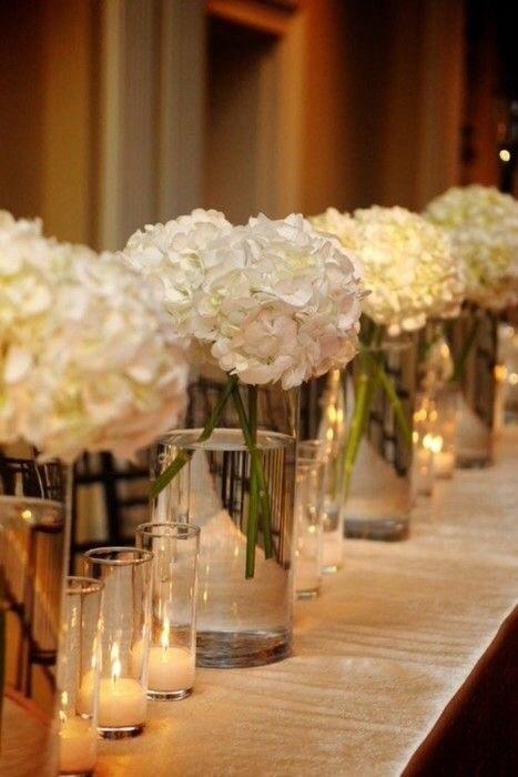 Glass cube vases