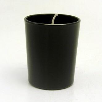 Cylinder votive Black