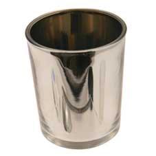 Cylinder votive Silver
