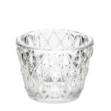 Cut glass Tealight votive