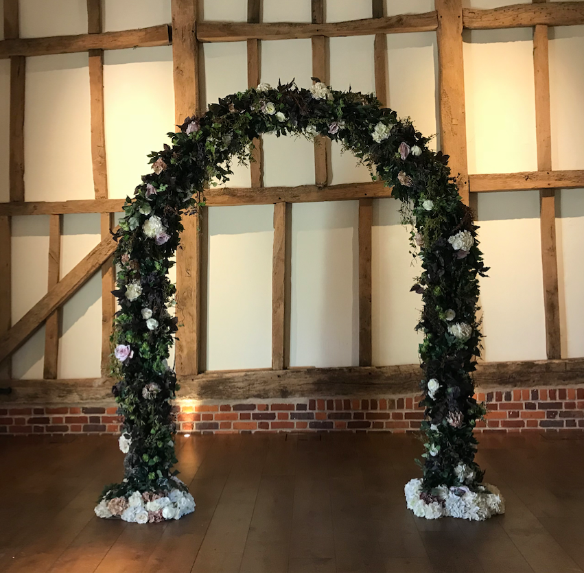 WOODLAND /enchanted SILK FLOWER ARCH