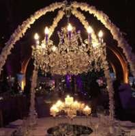 CRYSTAL TABLE CHANDELIER STRUCTURE