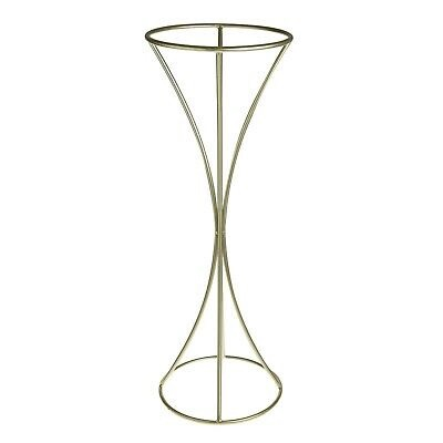 METAL FLOWER STAND 100CM TALL