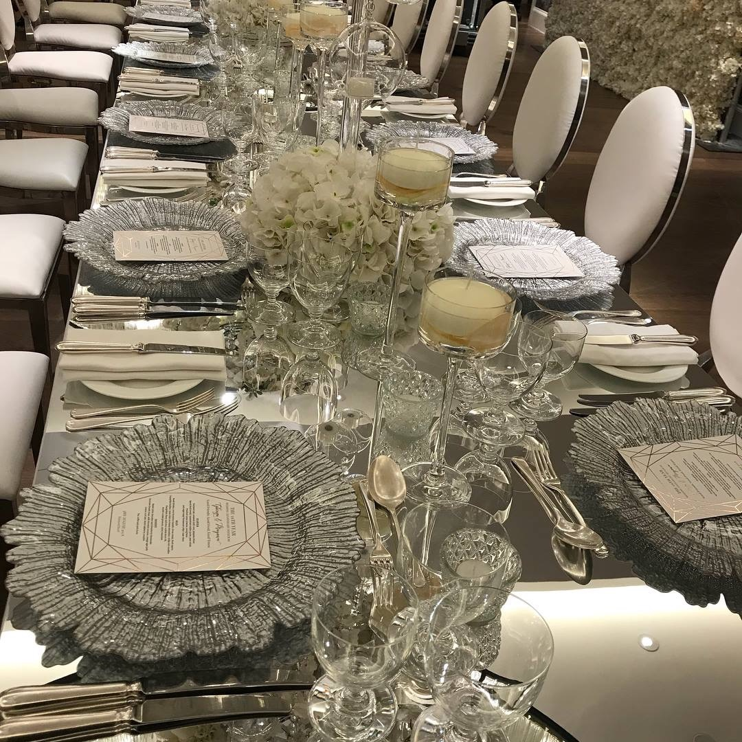 MIRRORED TABLES TOPS RECTANGULAR