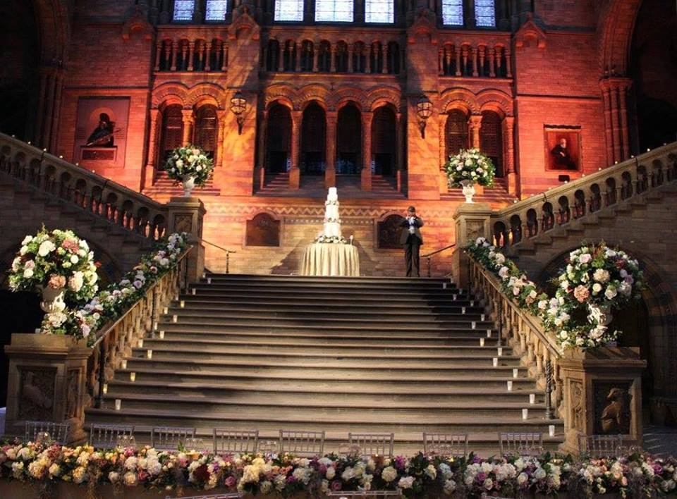 Stair  Case Flowers / Natural History Museum