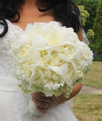 Bride Fresh Flowers Bouquet