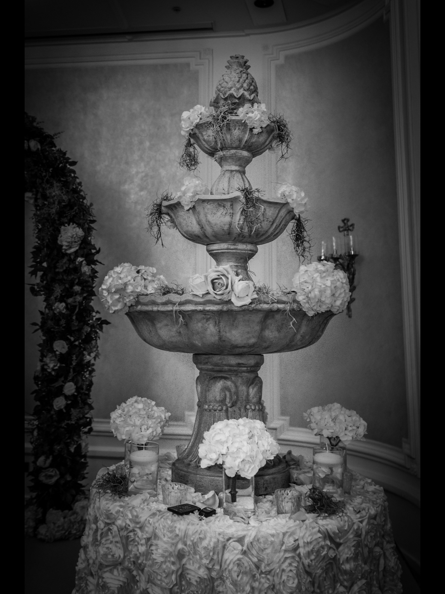 Corporate Events Display Water Fountain