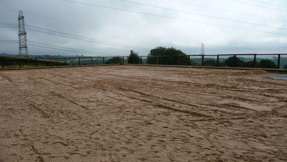Riding Arena Silica Sand