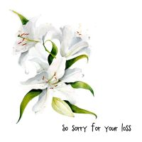 So sorry for your loss