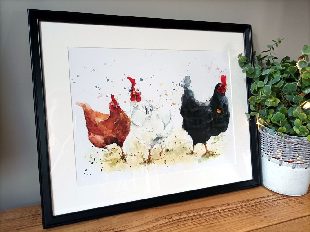 Chick, chick, chick, chick, Chicken....