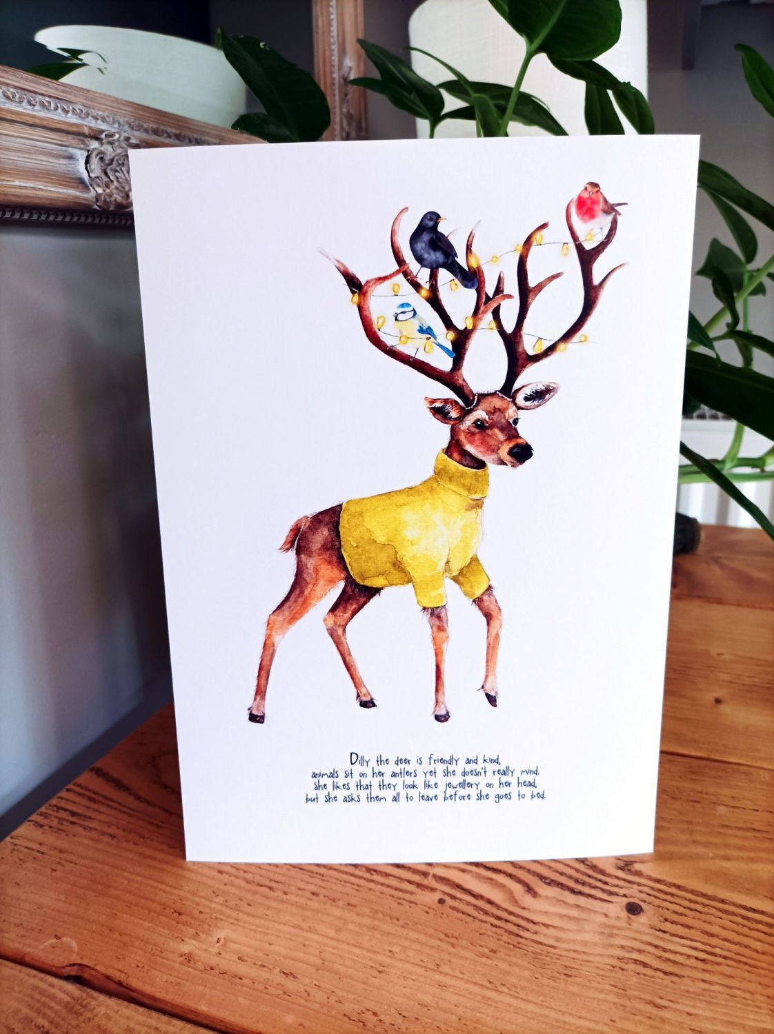 Dilly the deer