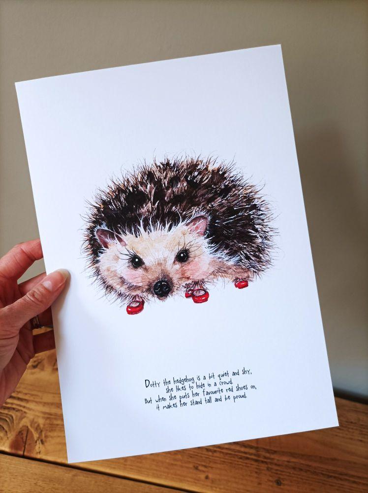Dotty the hedgehog