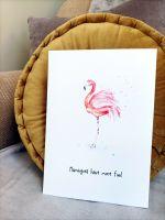 Flamingoes have more fun!