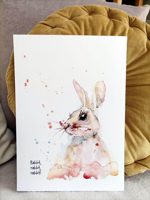 Rabbit rabbit rabbit!