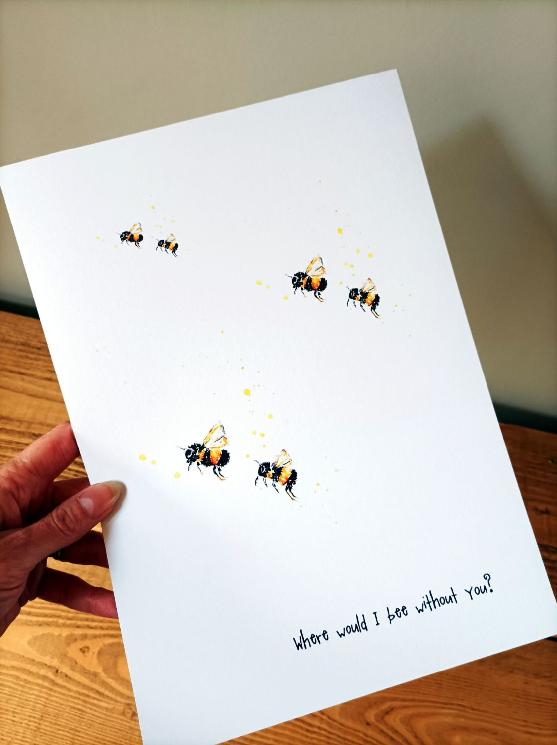 Where would I bee without you!