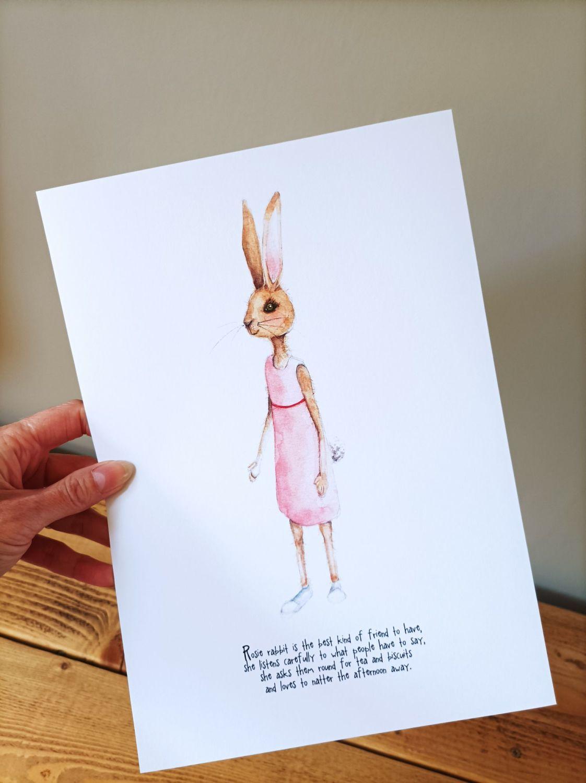 Rosie the rabbit